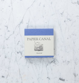 """Papeterie St-Armand Papeterie St-Armand - 6"""" Square Handmade Canal Paper - White - Block of 60 Sheets"""