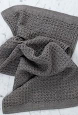 Lattice Waffle Hand Towel - Brown
