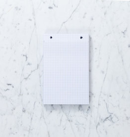 "Refill Sheets for Exacompta FAF Refillable Metal Desk Pad - Grid - Large - 5"" x 8"""