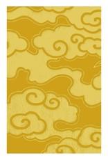 Matchbook Mini Memo Book - Golden Clouds