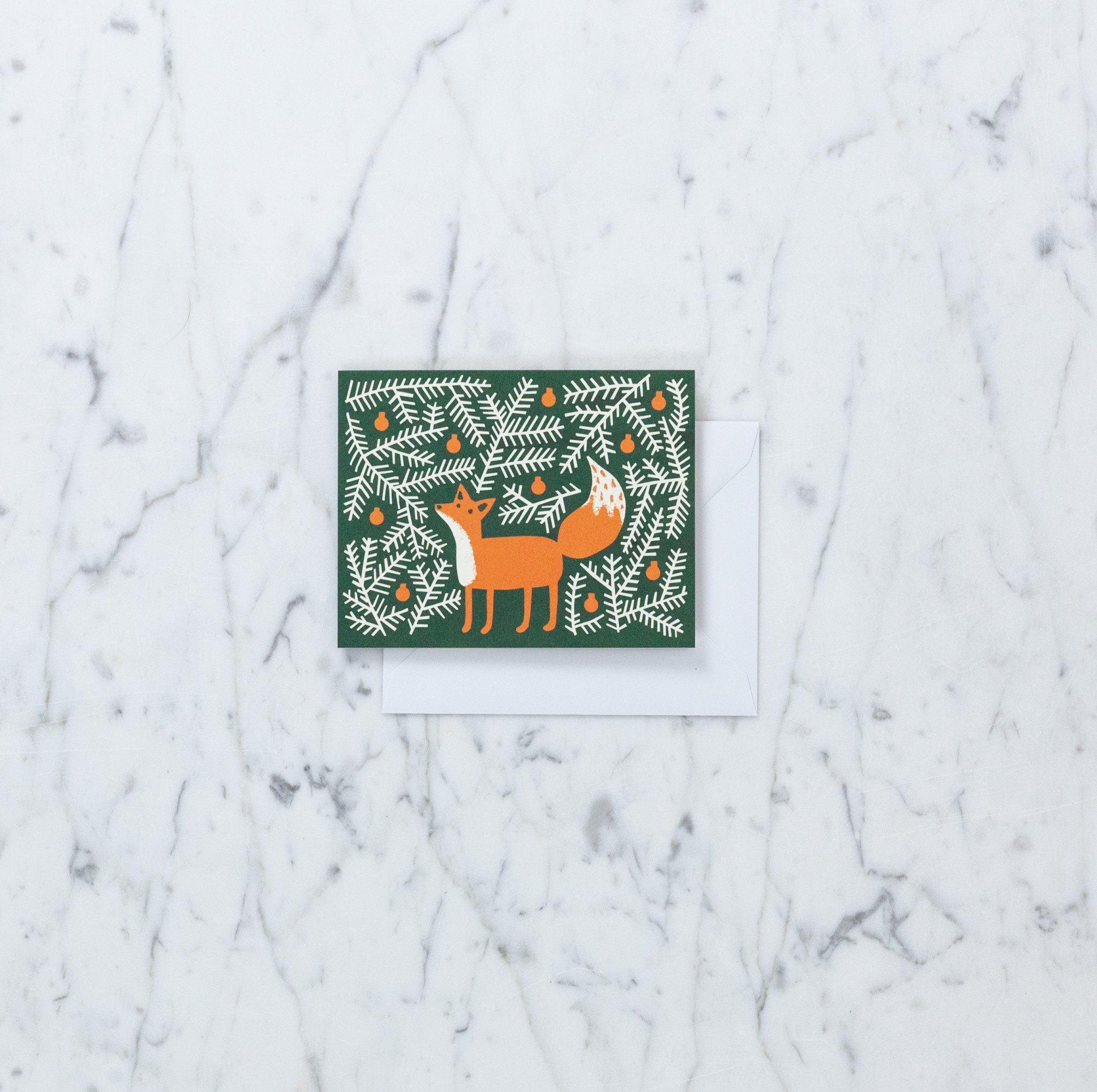 Greeting Card - Forest Fox