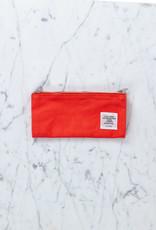 Delfonics Double Sided Canvas Folding Storage Pencil Case - Orange