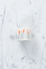 Washi Tape Single: White Candle Flames