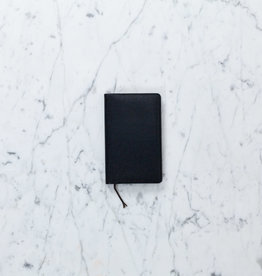 Black Memo Book - A6 - Ruled