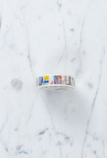 Washi Tape Single: Abstract Flag Symbols
