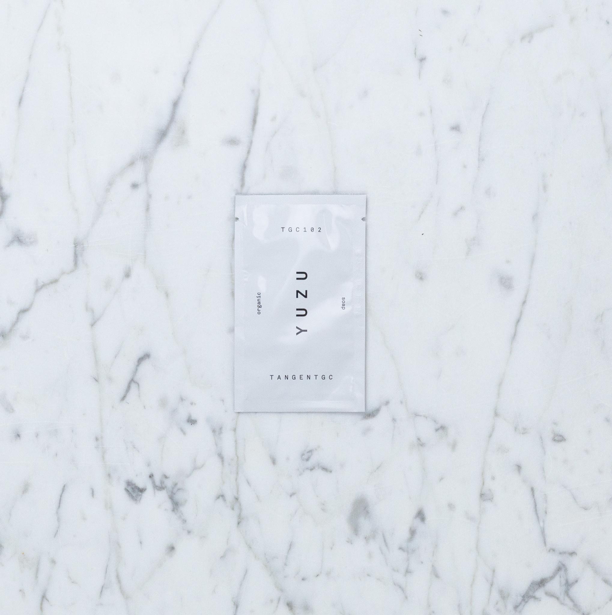 TGC yuzu soap - tester sachet