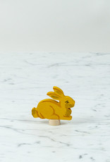 Grimm's Toys Celebration Yellow Rabbit