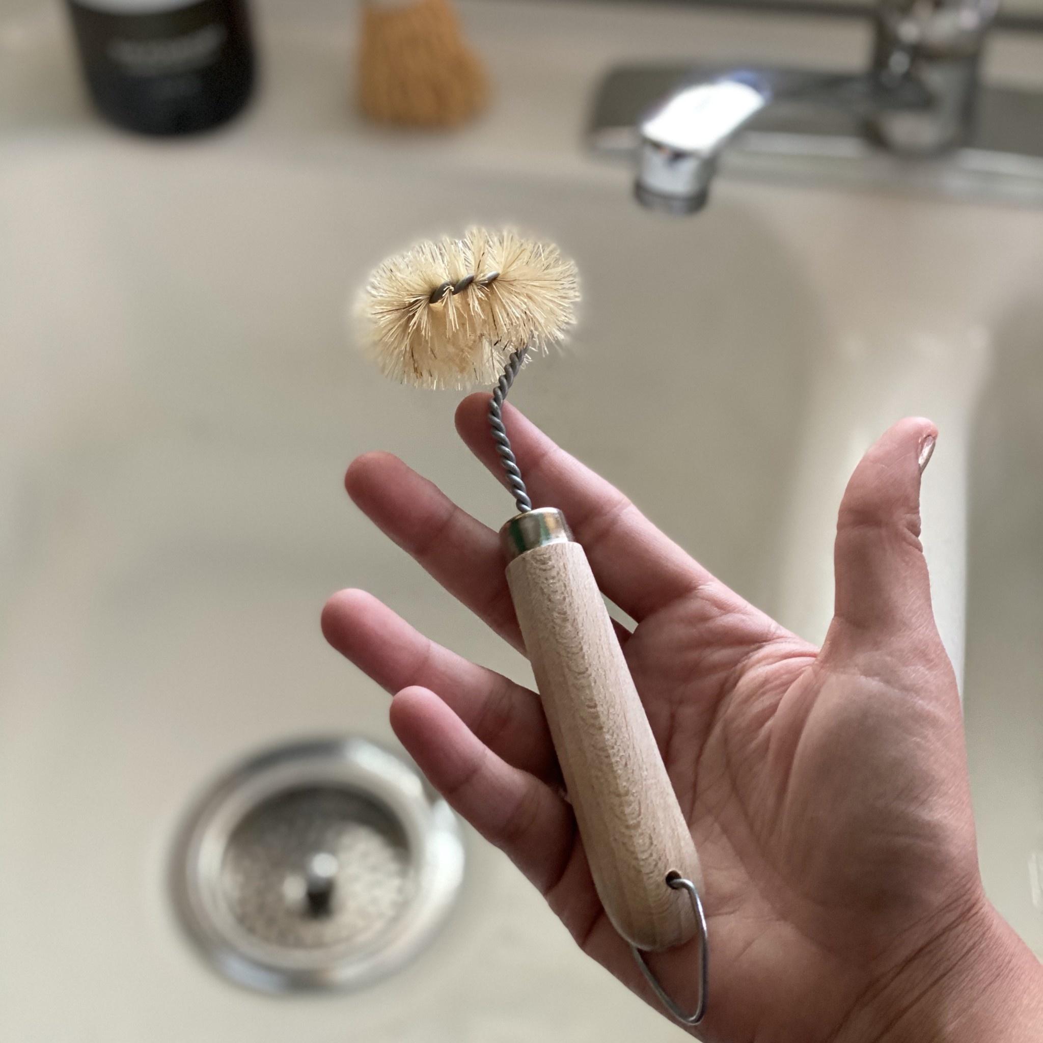 Round Drain Brush