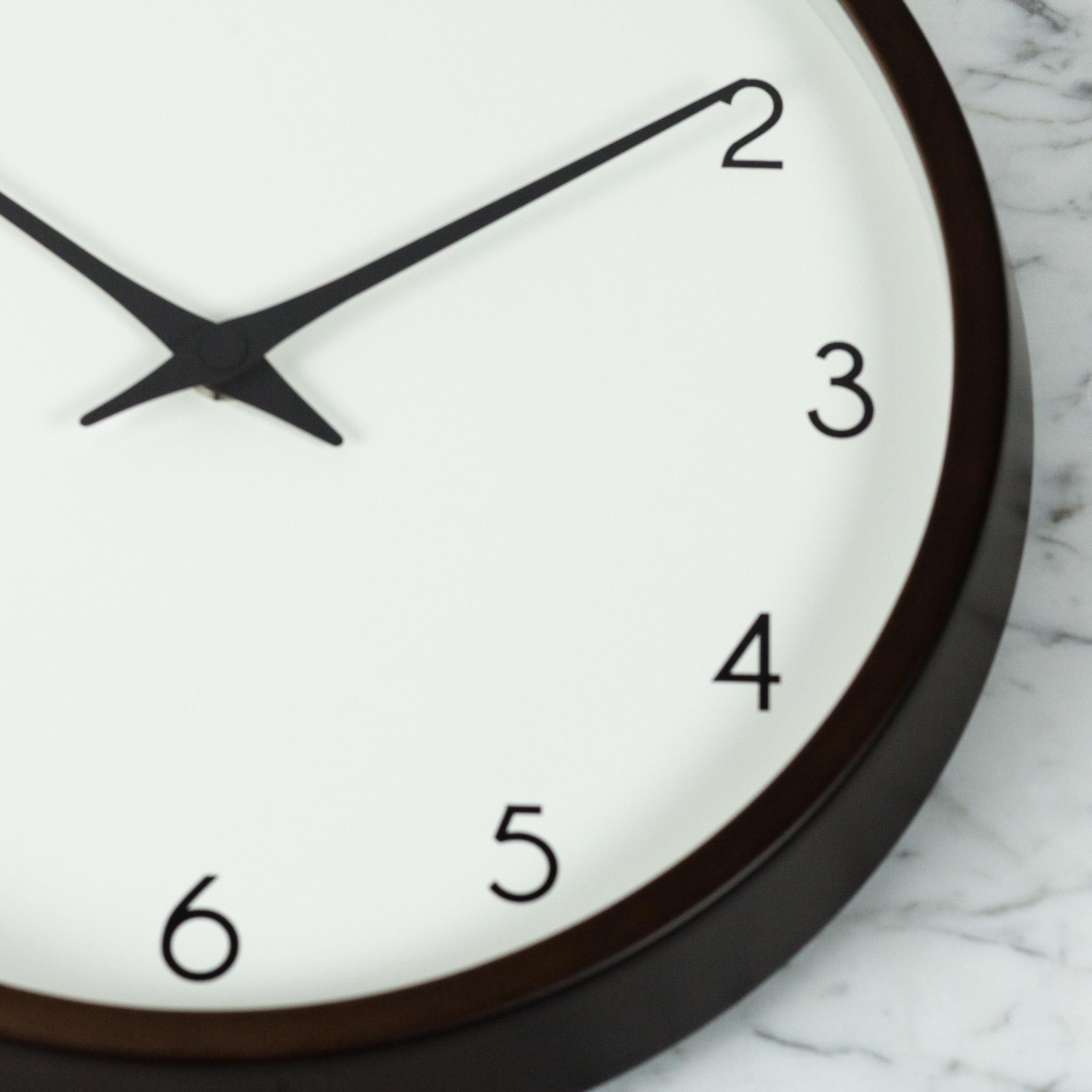 Campagne Clock - Brown