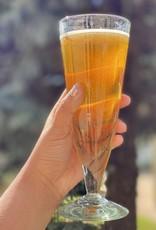 Handblown Cone Pilsner Glass