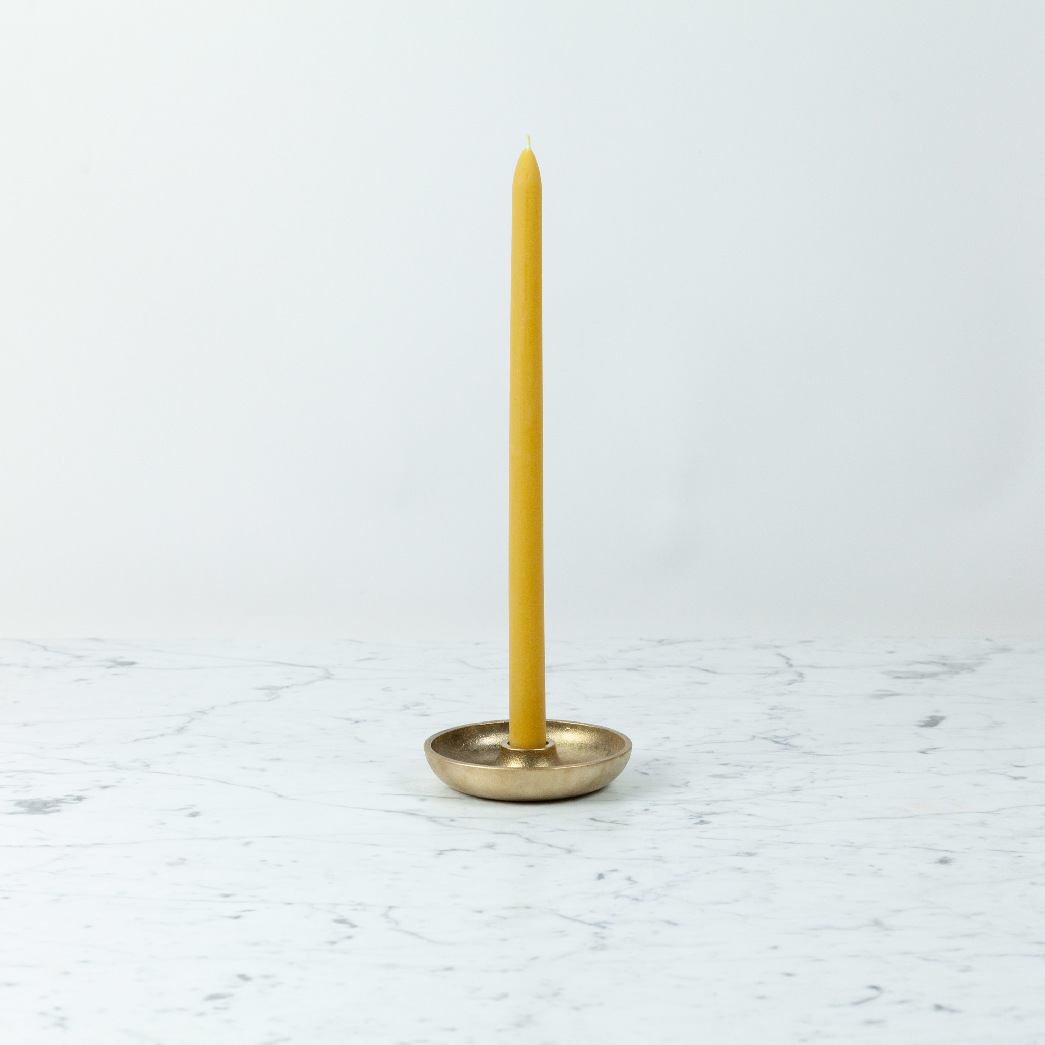 """Old Mill Candles Extra-Tall Beeswax Taper - 14"""""""