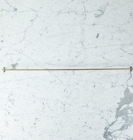 """Extra Large Brass Towel Bar - 31.5"""""""