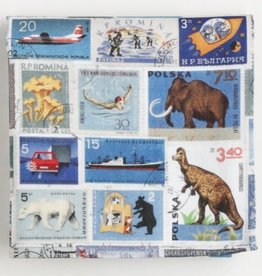 Handkerchief: Kitte Stamp Prints