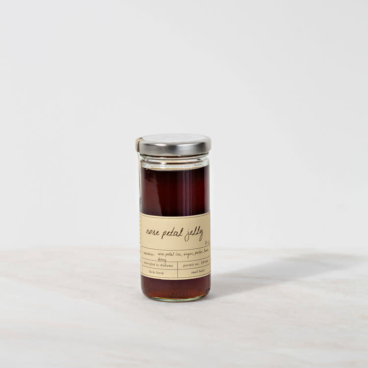 Stone Hollow Farmstead Rose Petal Floral Jelly