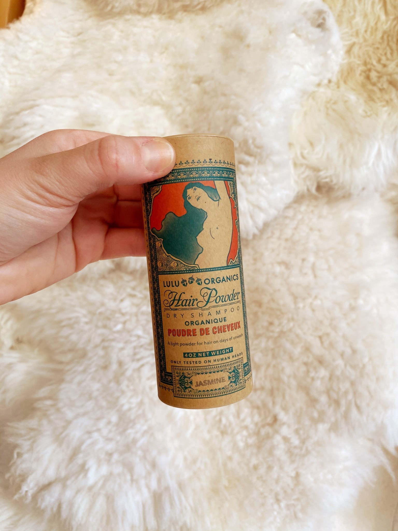 Lulu Organics Lulu Organics Hair Powder - Jasmine