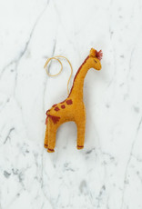Hand Felted Giraffe Ornament