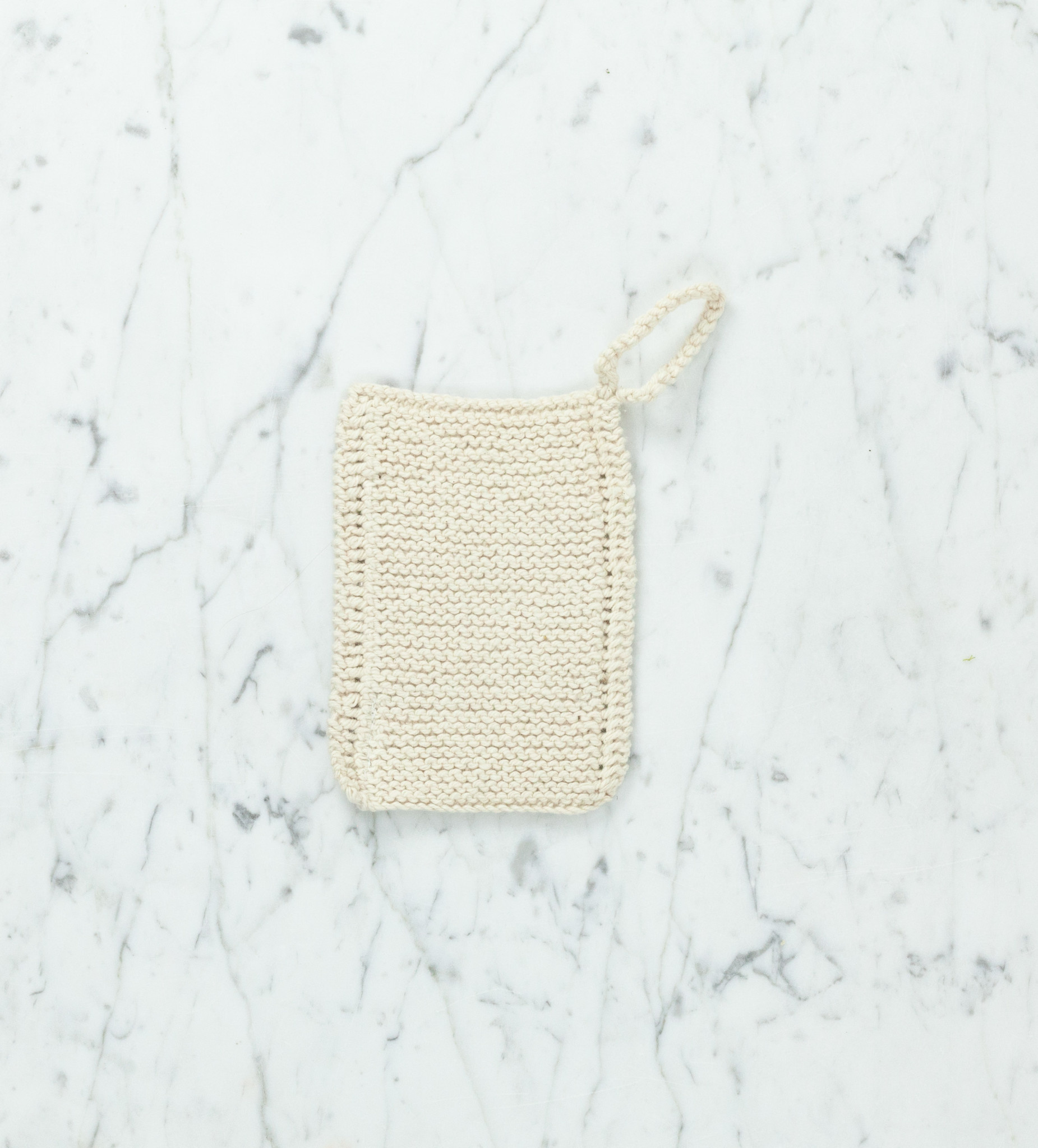 Toockies Hand Knit Organic Scrubbing Pad with Loop - Individual