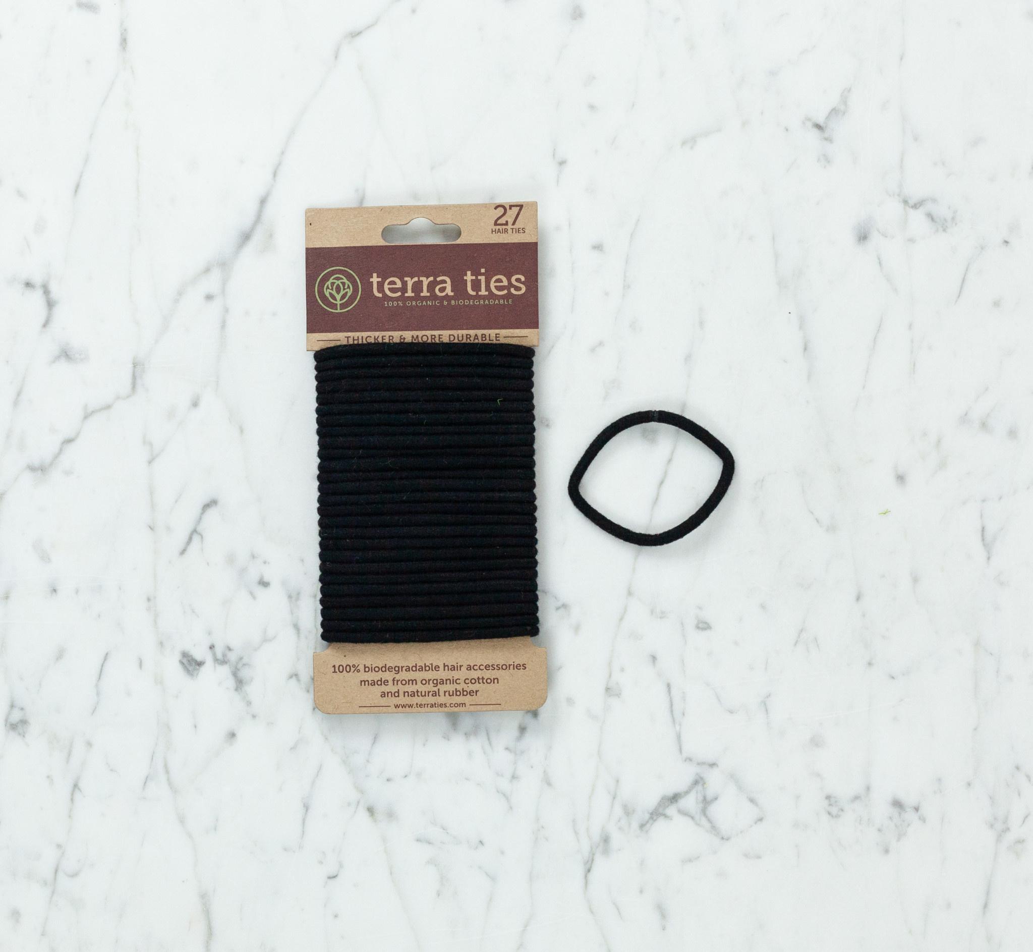 Organic Biodegradable Hair Ties