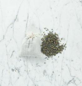 Lavande Lavender Buds in a Muslin Bag - 3.5 oz