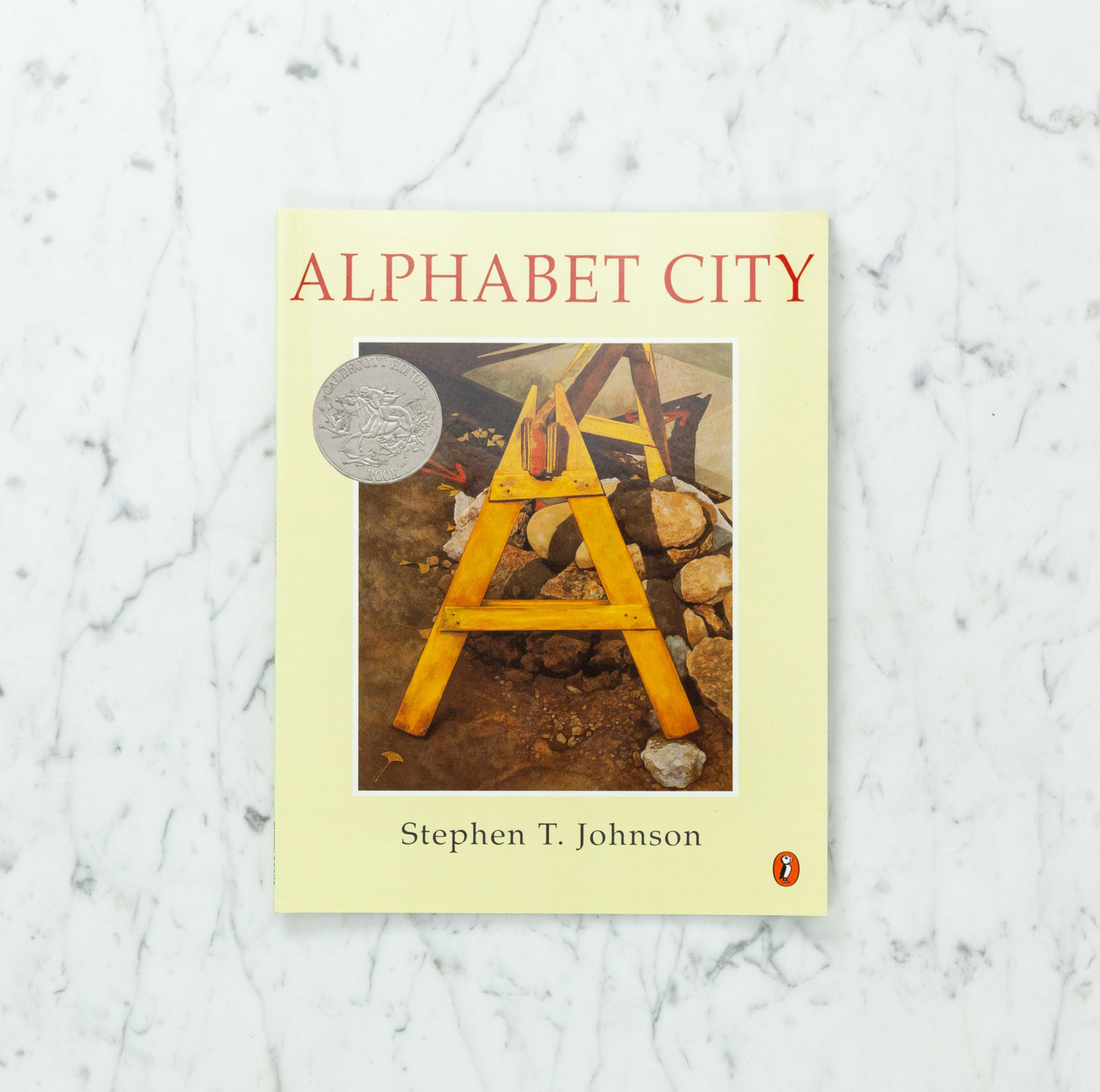 Alphabet City by Stephen T. Johnson