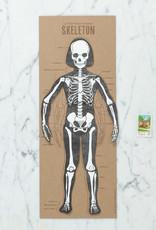 Blackbird Letterpress Letterpress Skeleton Articulate Figure