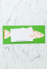 Blackbird Letterpress Letterpress Hooked Fish Card