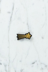 Hand Embroidered Macon & Lesquoy Pin - Shooting Star