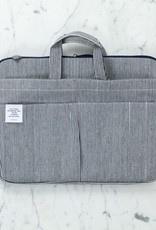 Canvas Utility Carrying Case with Handle - Large - Stripes
