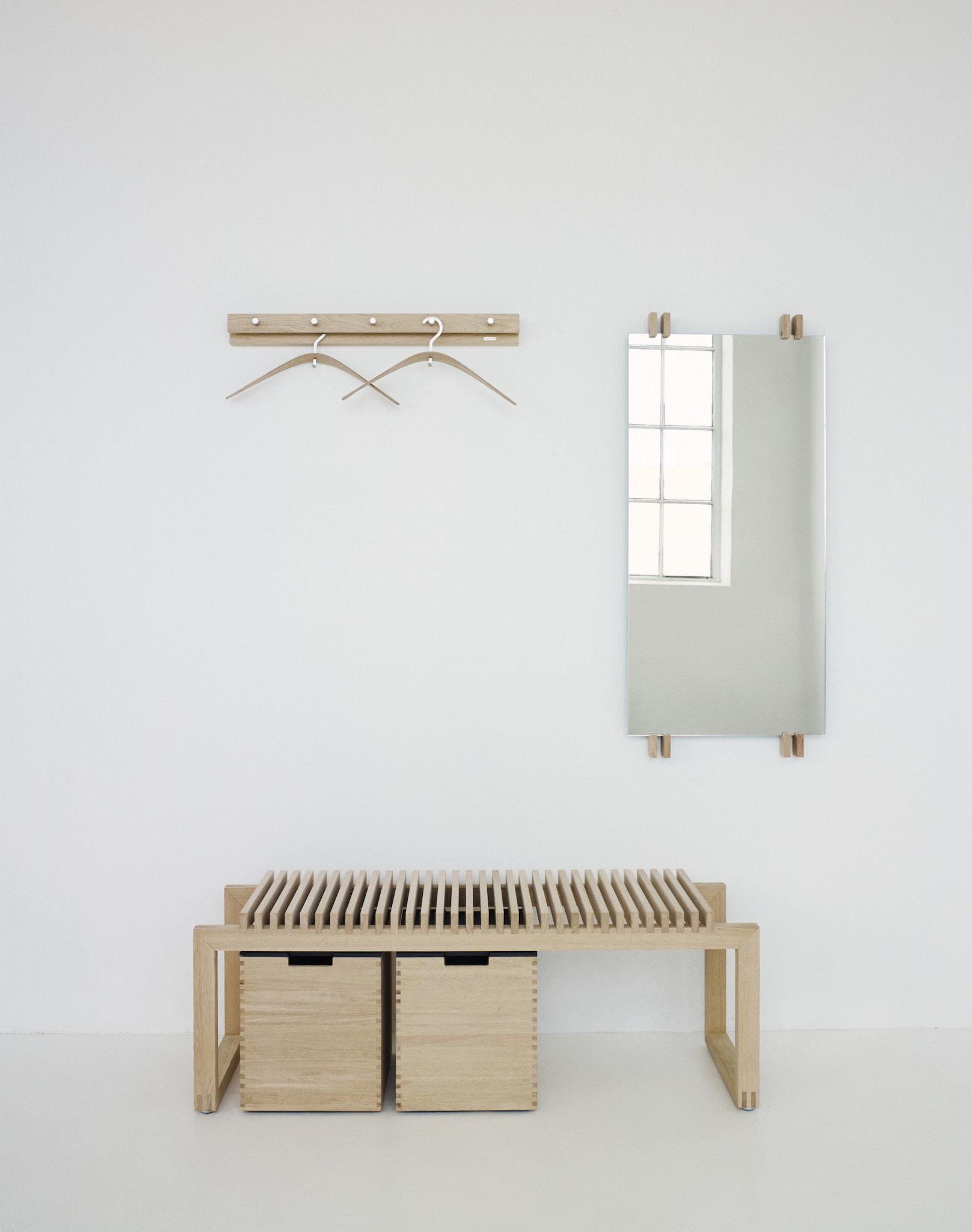 Skagerak FLOOR SAMPLE Cutter Long Bench Seat - Oak