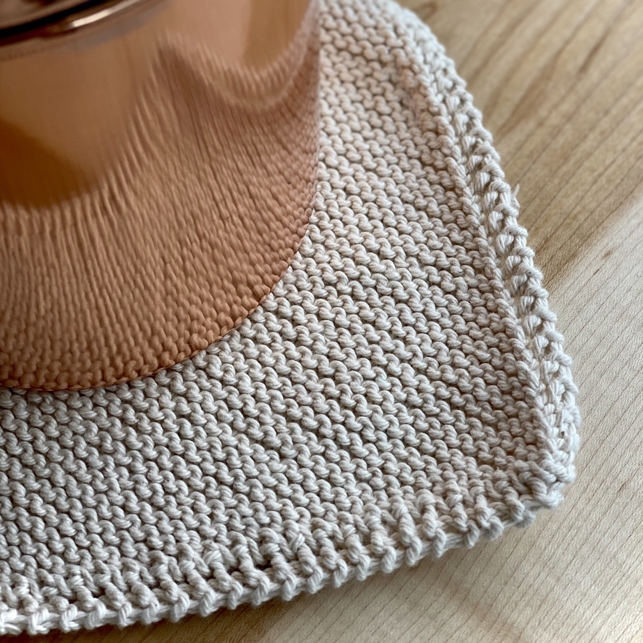 Toockies Hand Knit Organic Scrubbing Pad - Square - Individual