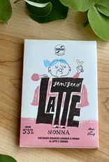 Zia Pia Nonna Organic Milk Chocolate with Ginger