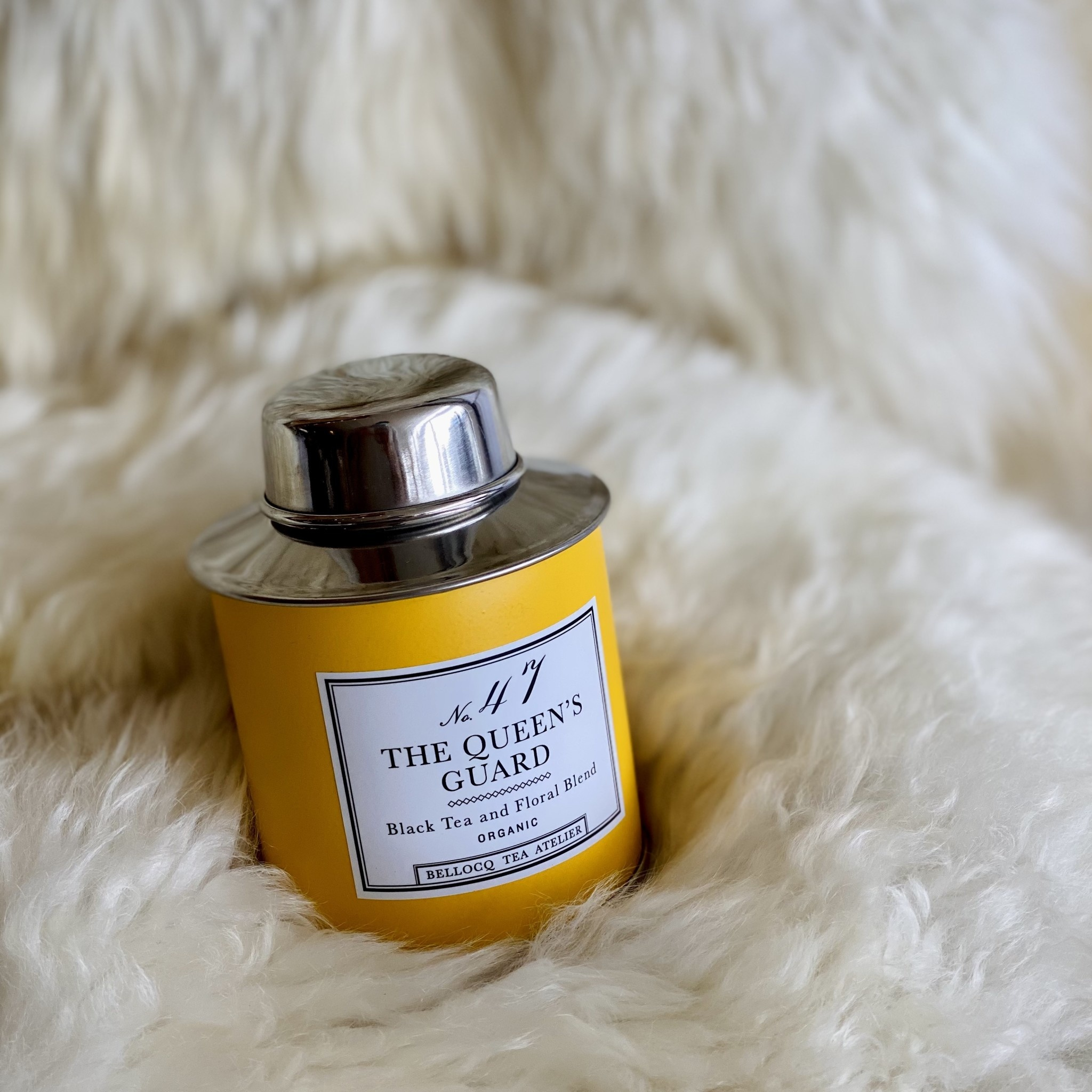 Bellocq Tea Atelier Bellocq The Queen's Guard - Traveler Caddy Loose Leaf Tea Tin