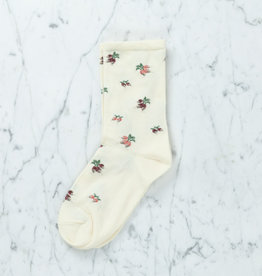 Royalties Paris Socks - Rachel Turnip - Ivory