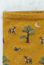 Royalties Paris Socks - Curry Orange Baby Deer