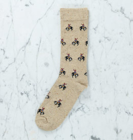 Royalties Paris Socks - Rodeo - Beige
