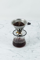 Stainless Steel Pour Over Coffee Filter Cone