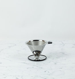 Trendglas Stainless Steel Pour Over Coffee Filter Cone