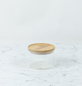 Trendglas Glass Storage Jar with Bamboo Lid - Small