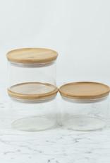 Trendglas Glass Storage Jar with Bamboo Lid - Small