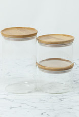 Trendglas Glass Storage Jar with Bamboo Lid - Large