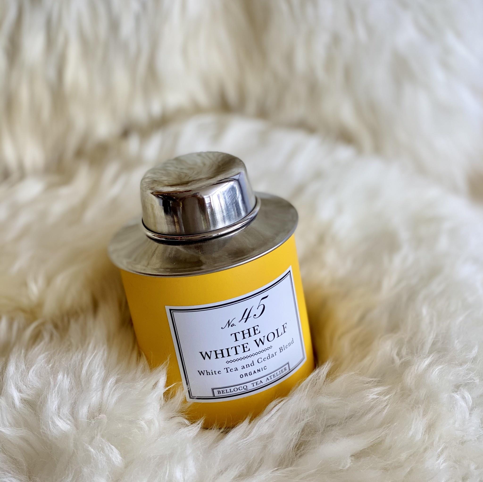 Bellocq Bellocq The White Wolf - Traveler Caddy Loose Leaf Tea Tin