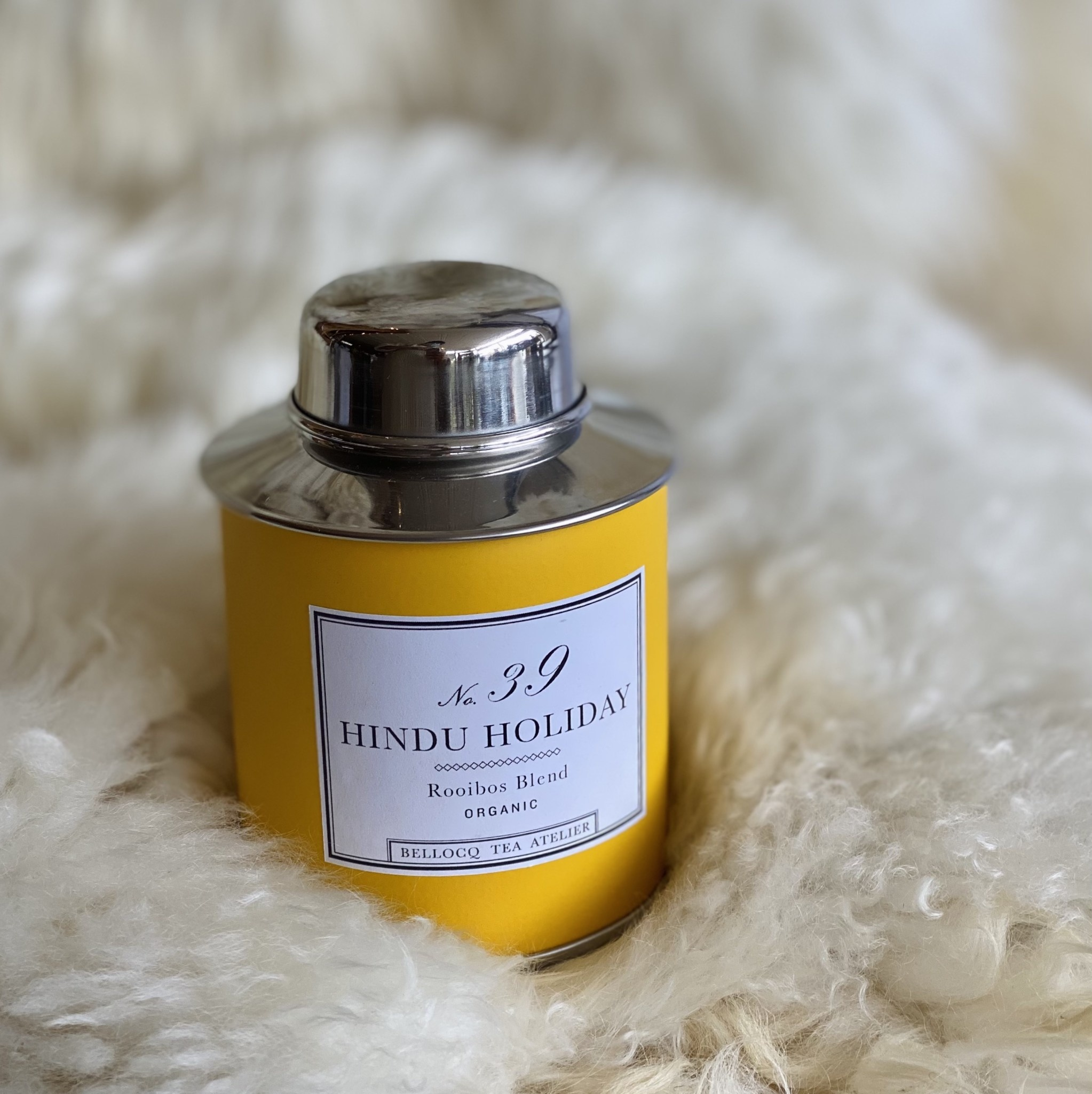 Bellocq Bellocq Hindu Holiday - Traveler Caddy Loose Leaf Tea Tin
