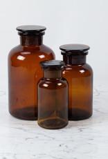 Trendglas Amber Apothecary Bottle - 1 Liter