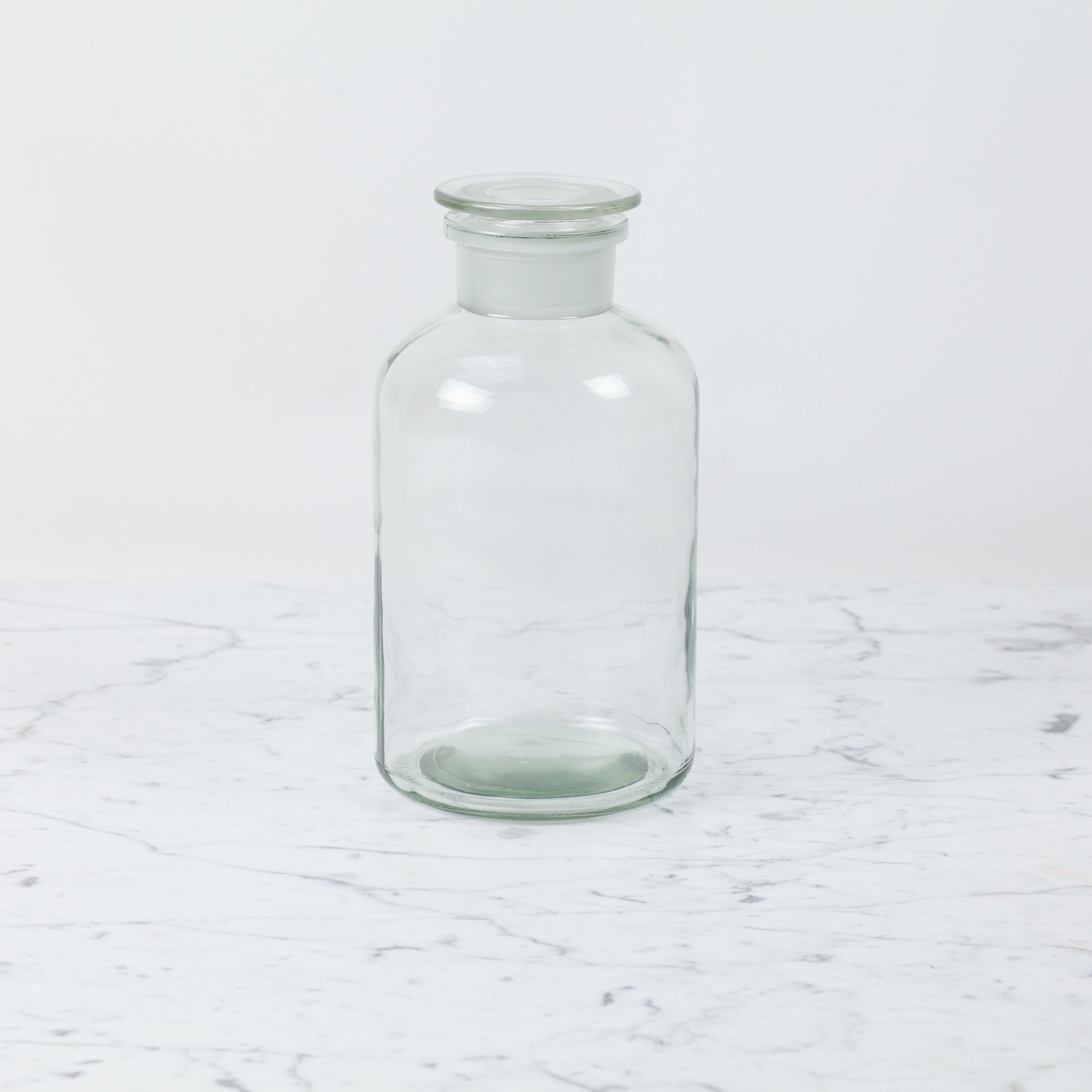 Clear Apothecary Bottle - 2 Liter