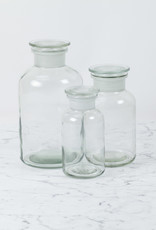Trendglas Clear Apothecary Bottle - .5 Liter