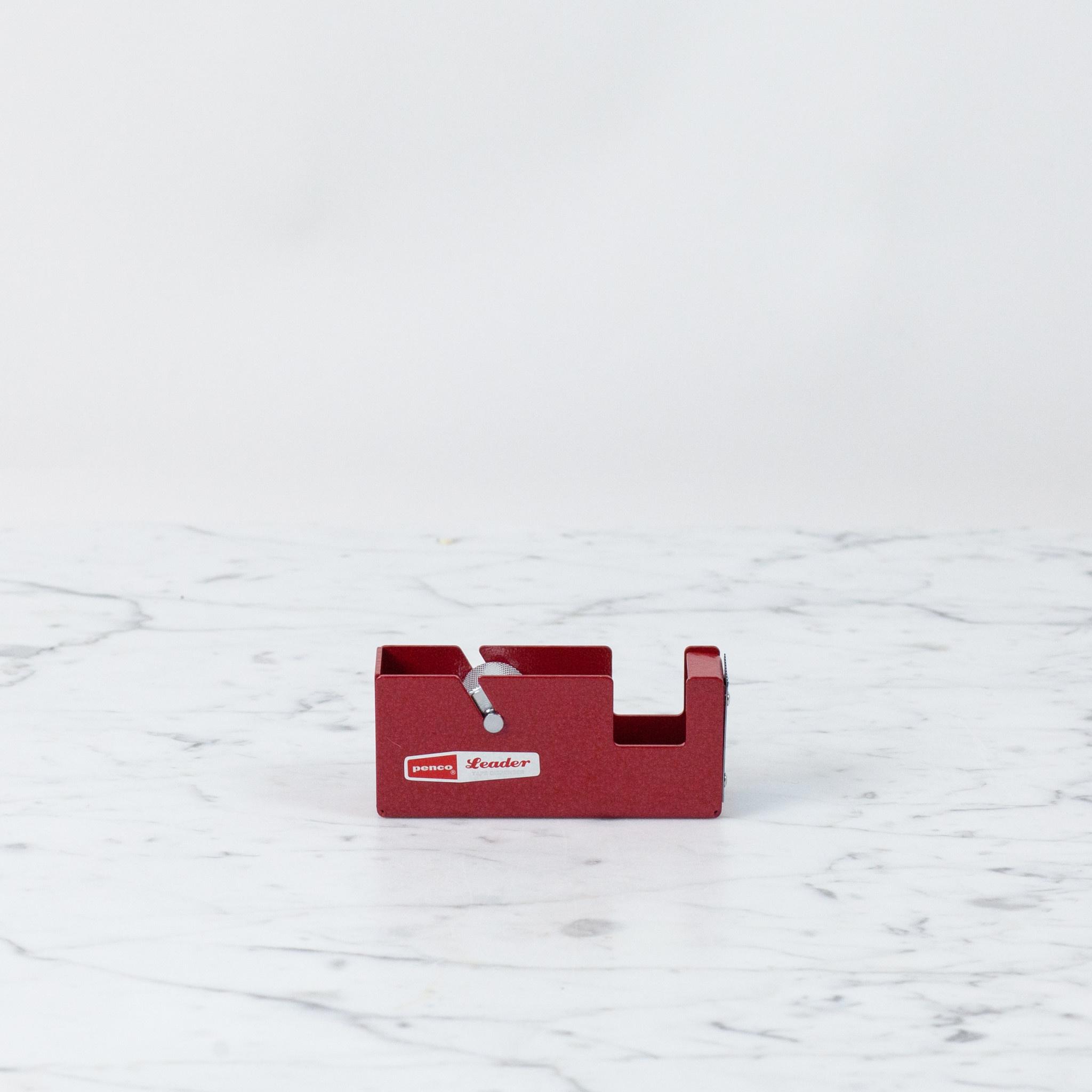 Small Desktop Tape Dispenser - Red