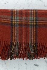 The Tartan Blanket Co Recycled Wool Blanket - Stewart Royal Antique Tartan