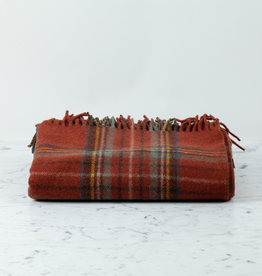 The Tartan Blanket Co Recycled Wool Blanket - Stewart Royal Antique