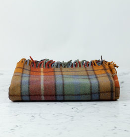 The Tartan Blanket Co Recycled Wool Blanket - Buchanan Antique Tartan