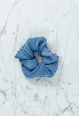 Rosemarine Textiles Plant Dyed Silk Scrunchie - Indigo Blue